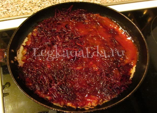 рецепт борща со свеклой и капустой