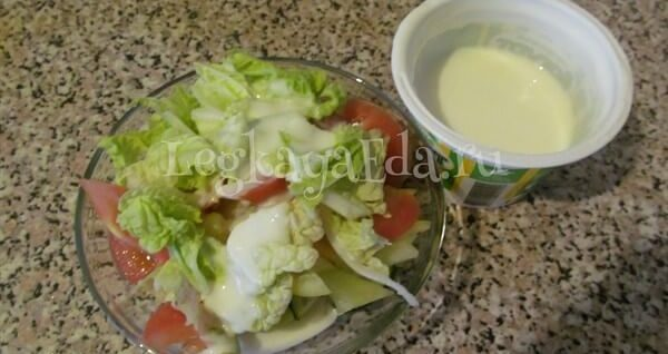 легкий салат на скорую руку рецепты из простых продуктов