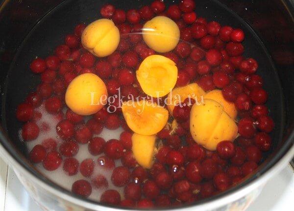 компот из вишни рецепт в кастрюле