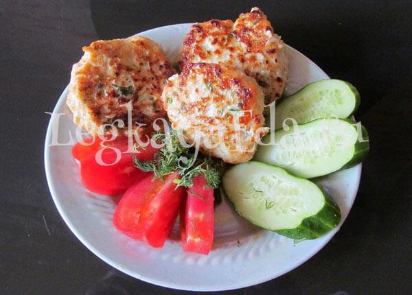 котлеты из куриного фарша рецепт на сковороде