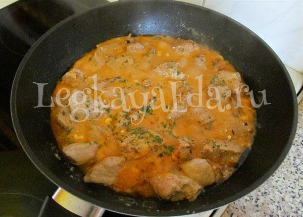 подливка из свинины рецепт с фото пошагово в кастрюле