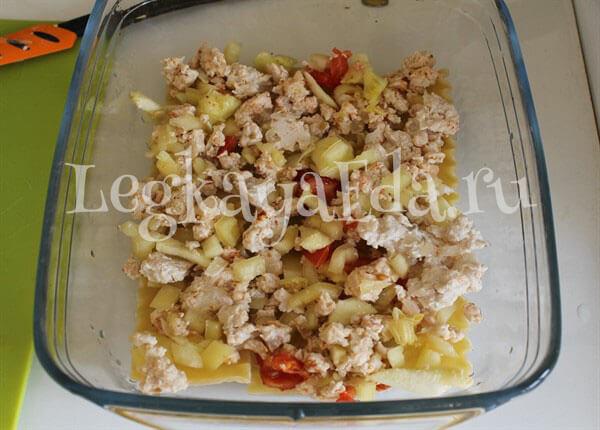 рецепт лазаньи с фаршем в домашних условиях