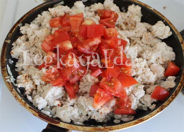 кабачки фаршированные овощами запеченные в духовке