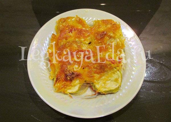 кабачки в духовке рецепты быстро и вкусно с помидорами