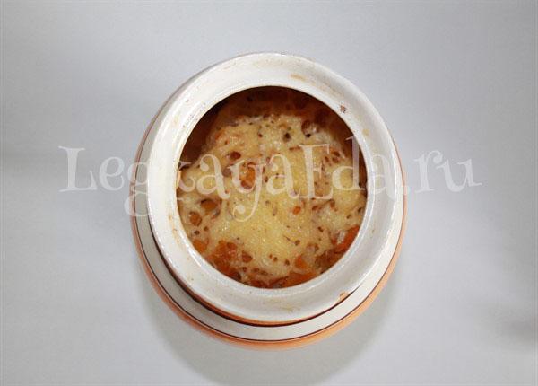 горшочки с мясом и картофелем в духовке рецепт с фото