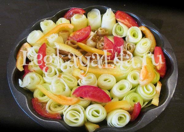 кабачки в духовке рецепты быстро и вкусно фото
