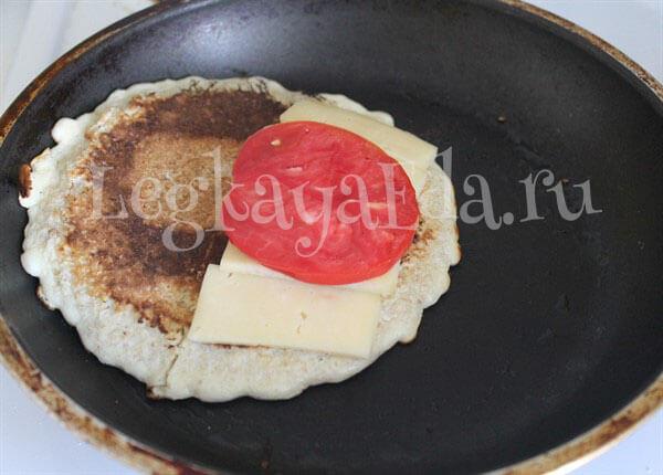 вкусный завтрак на скорую руку рецепт с фото