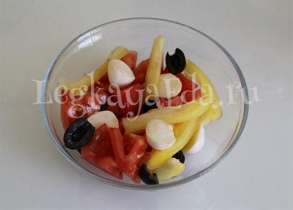 салат на скорую руку рецепты из простых продуктов с фото