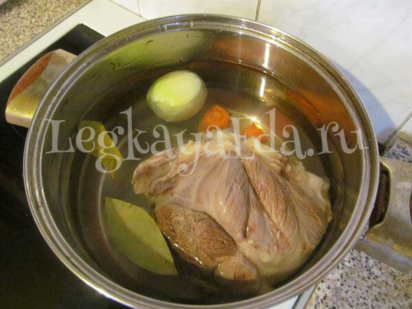 Холодец из говядины рецепт пошагово без желатина