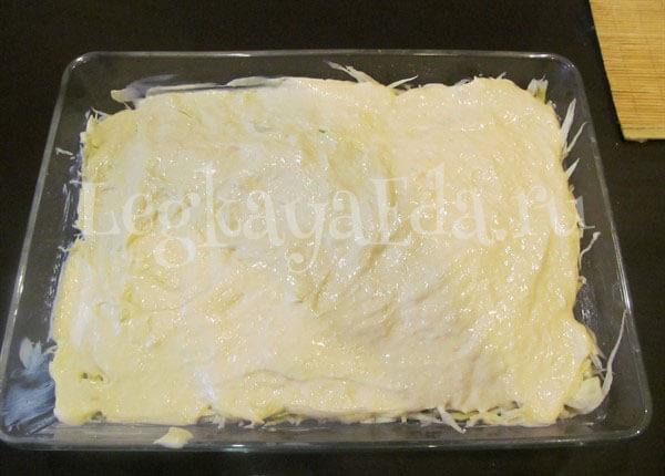 капустная запеканка в духовке рецепт с фото