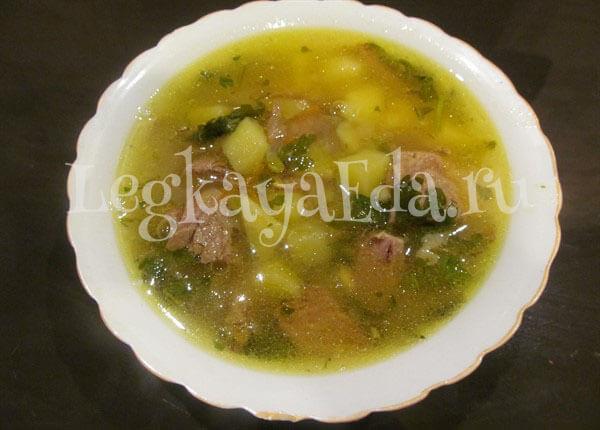 классический рецепт приготовления горохового супа с