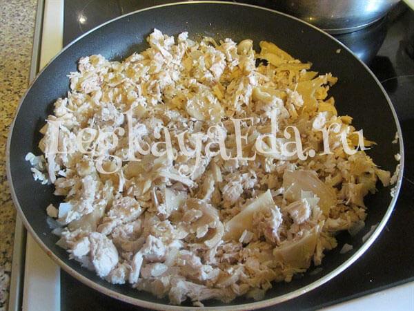 салат подсолнух рецепт с фото пошагово с курицей