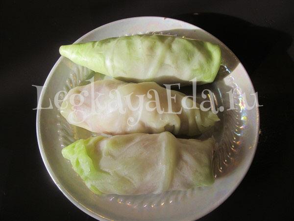 голубцы из свежей капусты пошаговый рецепт с фото