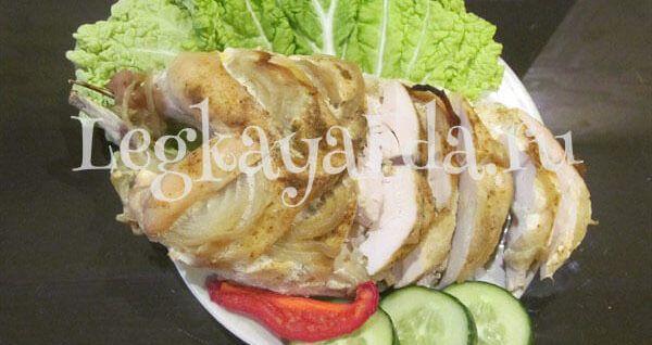 Куриная грудка в фольге в духовке диетическая рецепт с пошагово в