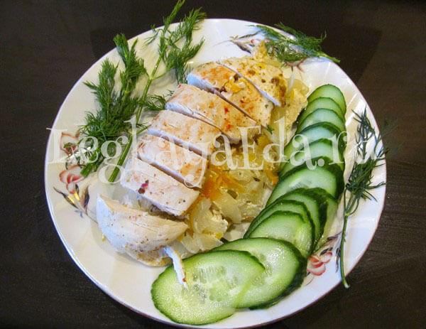 Рецепт приготовления куриного филе в соусе из сметаны с пошаговыми фотографиями