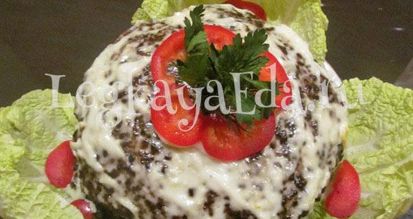 печёночный торт из говяжьей печени рецепт пошагово с фото
