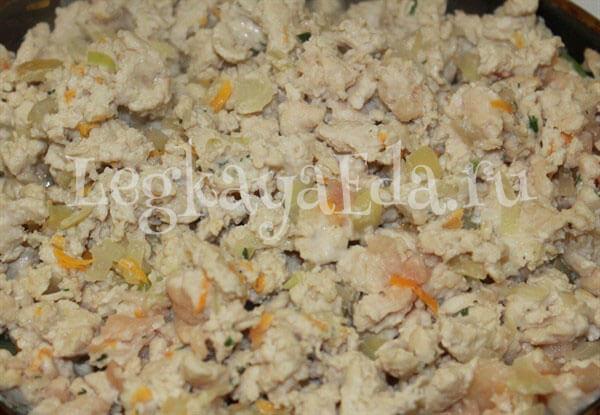 запеканка из макарон с фаршем в духовке рецепт фото