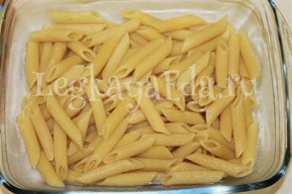 Запеканка с фаршем и макаронами рецепт с фото