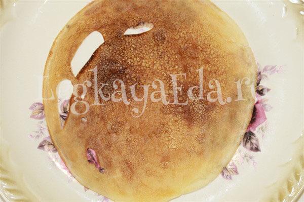 блинный торт рецепт с фото пошагово