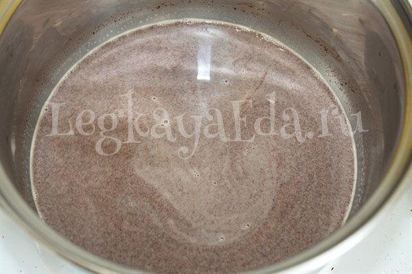 как приготовить шоколадный мусс в домашних условиях