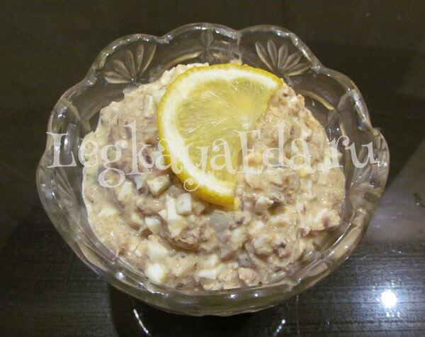 салат быстро и вкусно и недорого рецепт с фото
