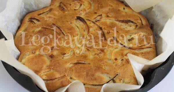 пирог с мясом на кефире в духовке пошаговый рецепт с фото