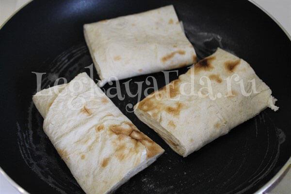 что приготовить из лаваша быстро и вкусно с фото