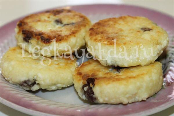 сырники из творога рецепт классический пышные на сковороде фото рецепт