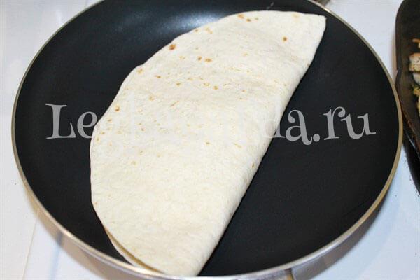 начинка для тортильи в домашних условиях