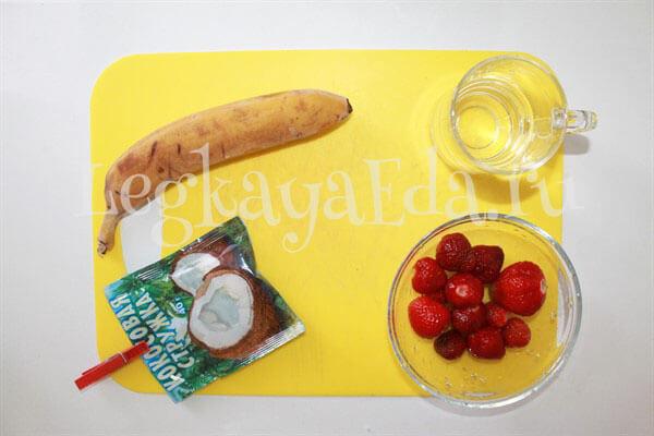 как сделать банановый смузи