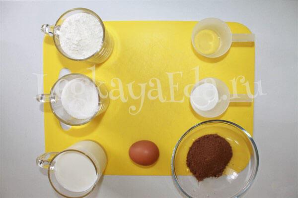 что нужно для приготовления шоколадного кекса