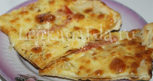 тесто для пиццы как в пиццерии рецепт