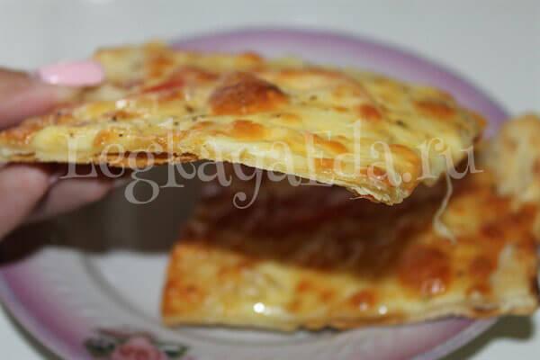 тесто для пиццы без дрожжей рецепт за 5 минут
