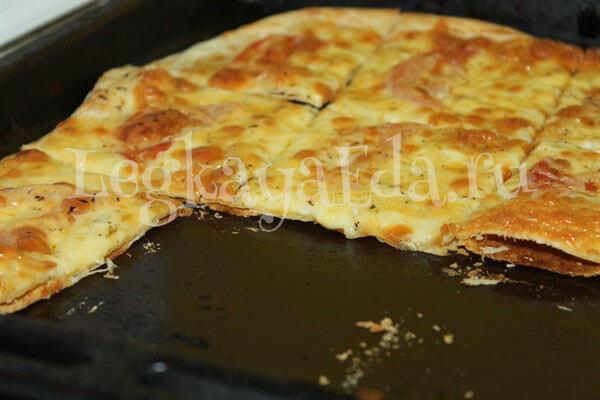 как сделать тесто для пиццы тонким и вкусным