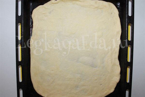 рецепт пиццы в домашних условиях в духовке с фото