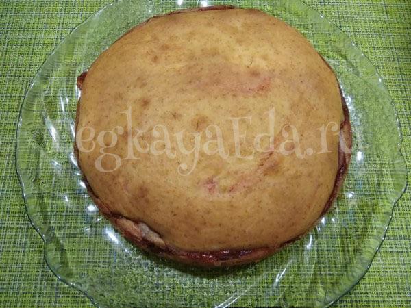 Быстрый пирог к чаю, очень вкусный и нежный