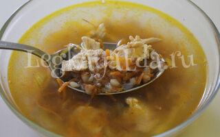 Гречневый суп: как приготовить вкусный суп с гречкой?
