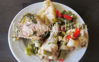 Курица кусочками с овощами в рукаве: простой и вкусный рецепт в духовке
