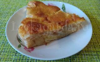Невидимый яблочный пирог — простой, обалденный пирог с яблоками