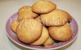Очень вкусное печенье из творога в духовке в домашних условиях