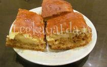 Заливной пирог с капустой на кефире в духовке. Готовим быстро и просто