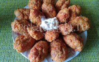 Морковные котлеты с куриным фаршем в духовке: диетический рецепт без яйца