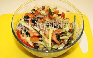 Салат с авокадо и тунцом: очень вкусный и простой рецепт