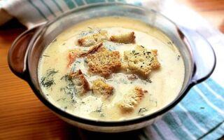 Сырный суп с плавленным сыром – 7 пошаговых рецептов