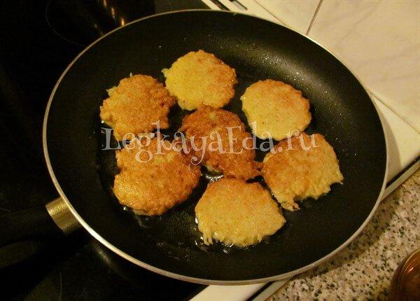 драники из картошки рецепт с фото