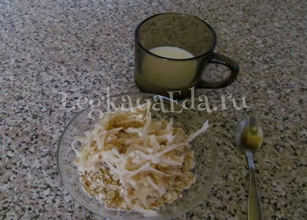 как приготовить геркулесовую кашу на молоке