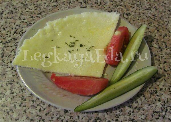 пышный омлет на сковороде рецепт с фото