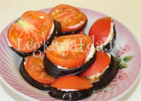 баклажаны жареные с чесноком и майонезом рецепт с фото