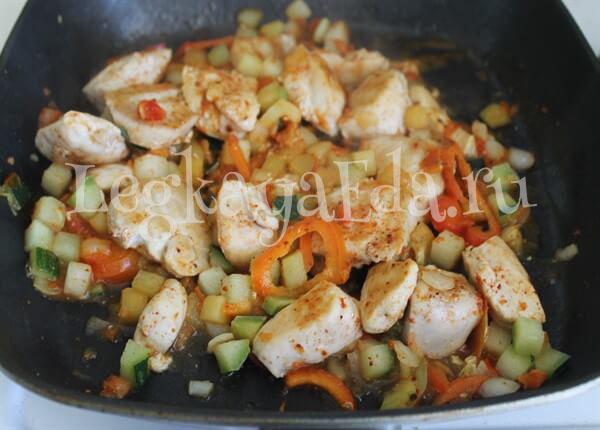 овощи на сковороде гриль рецепты с фото