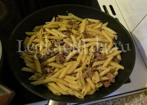 макароны по флотски рецепт с фаршем пошаговый рецепт с фото